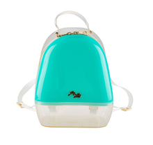Annabelle Backpack - Mint & Clear