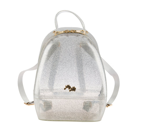 Annabelle Backpack - Sparkled Silver