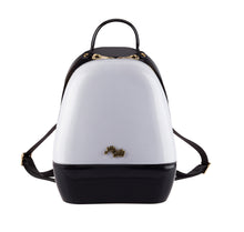 Annabelle Backpack - White & Black