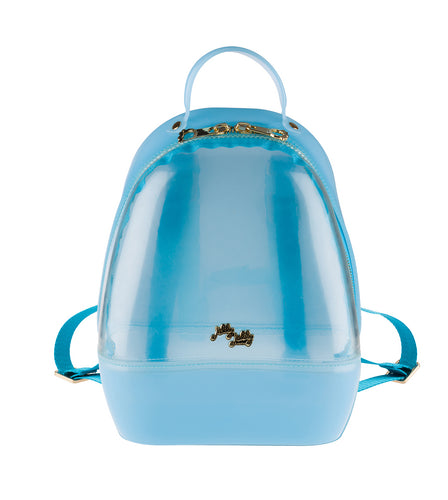 Annabelle Backpack - Clear & Blue