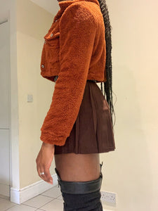 Tennis Skirt - Brown