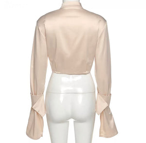 Giana Tailored Cropped Shirt