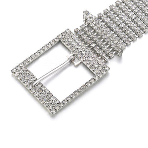 Diamond Encrusted Belt
