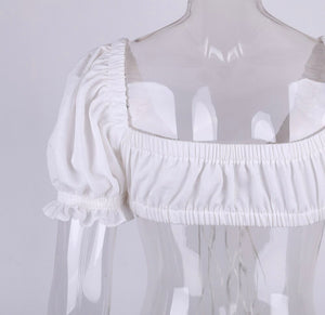 All The Frills Crop Top