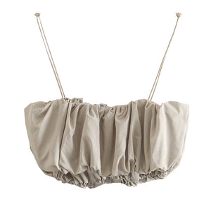 Penelope Puff Crop Top