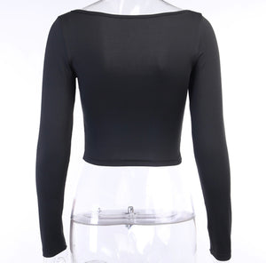 Reign Ruched Crop Top