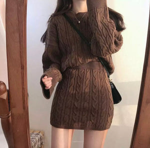 Hot Chocolate Knit 2 Piece Set