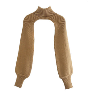 Porcha Cut Out Turtleneck Top