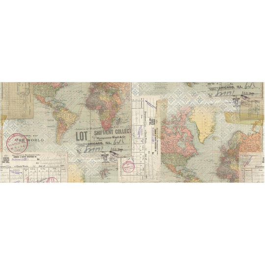 Tim Holtz Idea-Ology Travel Collage Paper