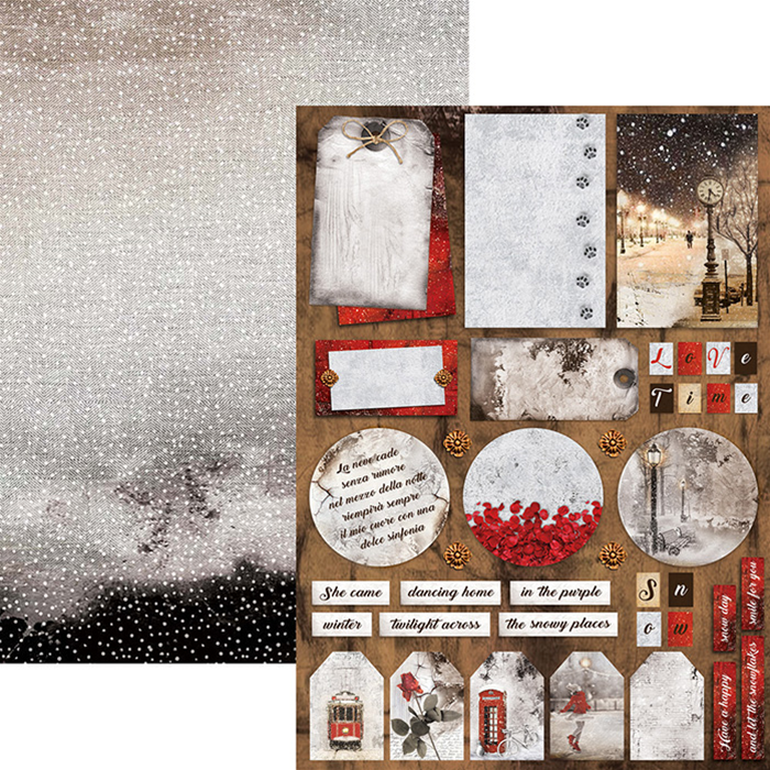 Ciao Bella Snow and the City Double Sided Creative Pad A4
