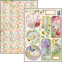 Microcosmos Double Sided Creative Pad A4