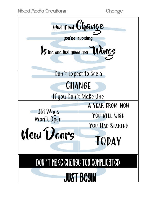Change Sentiment Pack