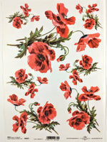 Poppies - Ninnys Napkins