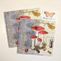 Fly Agaric and Beetle napkins for decoupage
