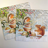 Winter Picture - Decoupage Napkins