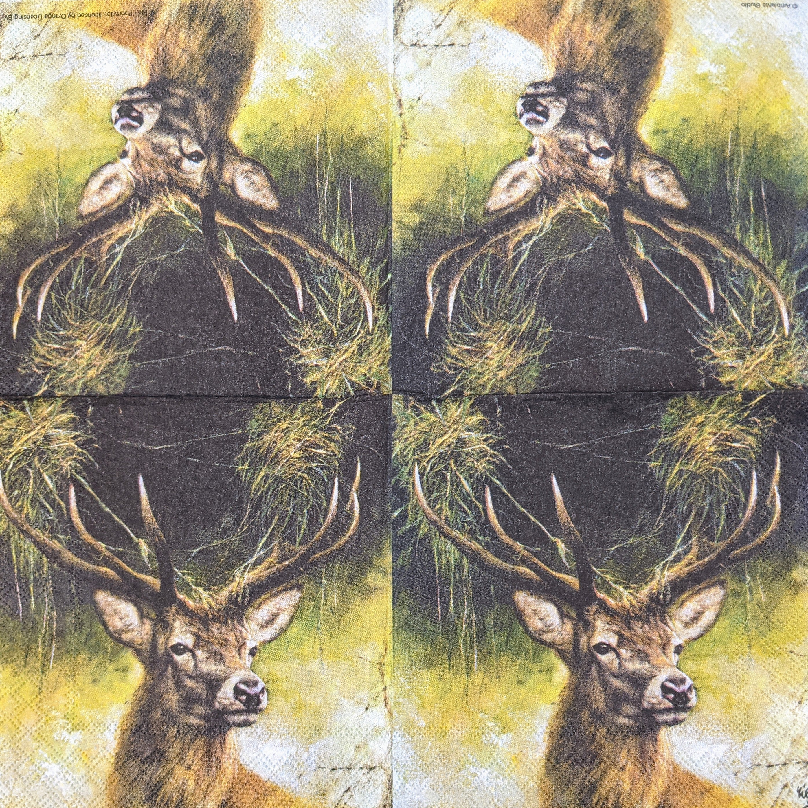 Proud Deer Napkins