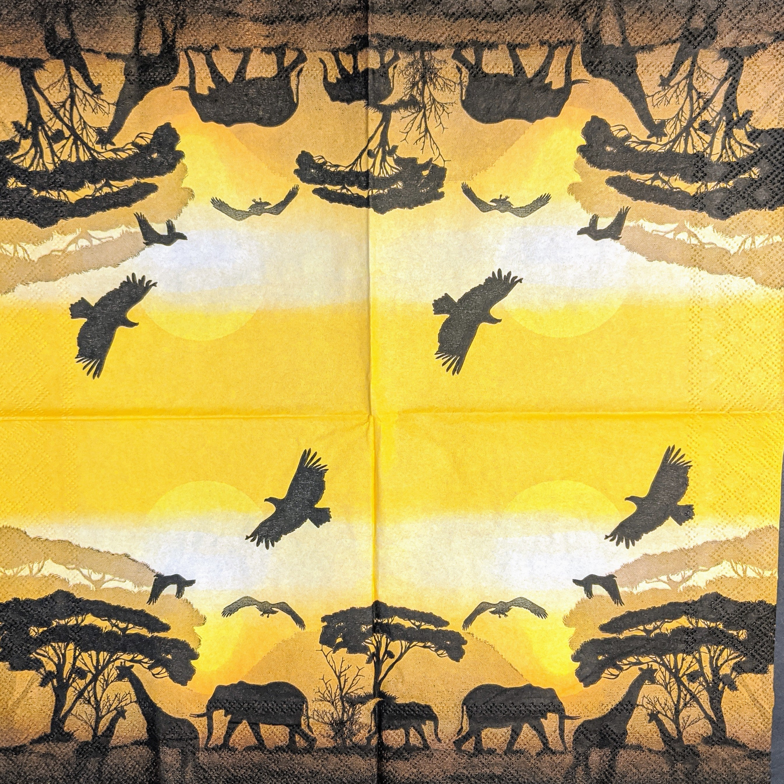 African Safari Napkins