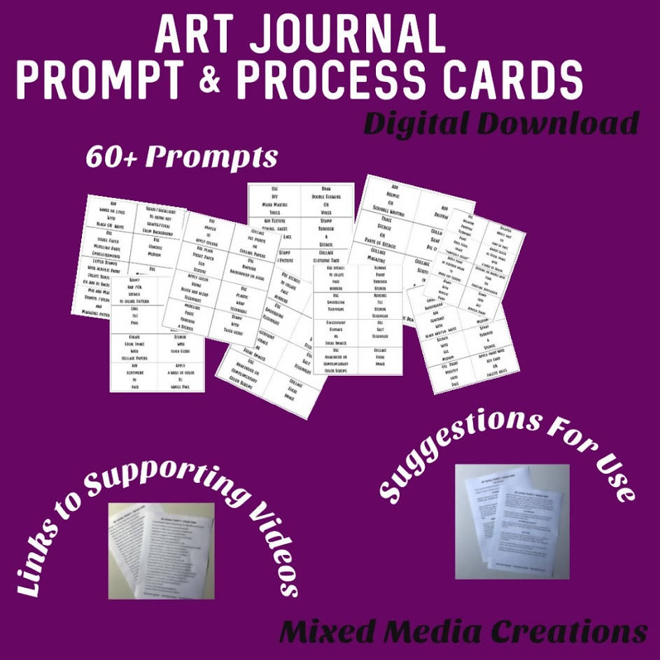 Art Journal Prompt & Process Cards