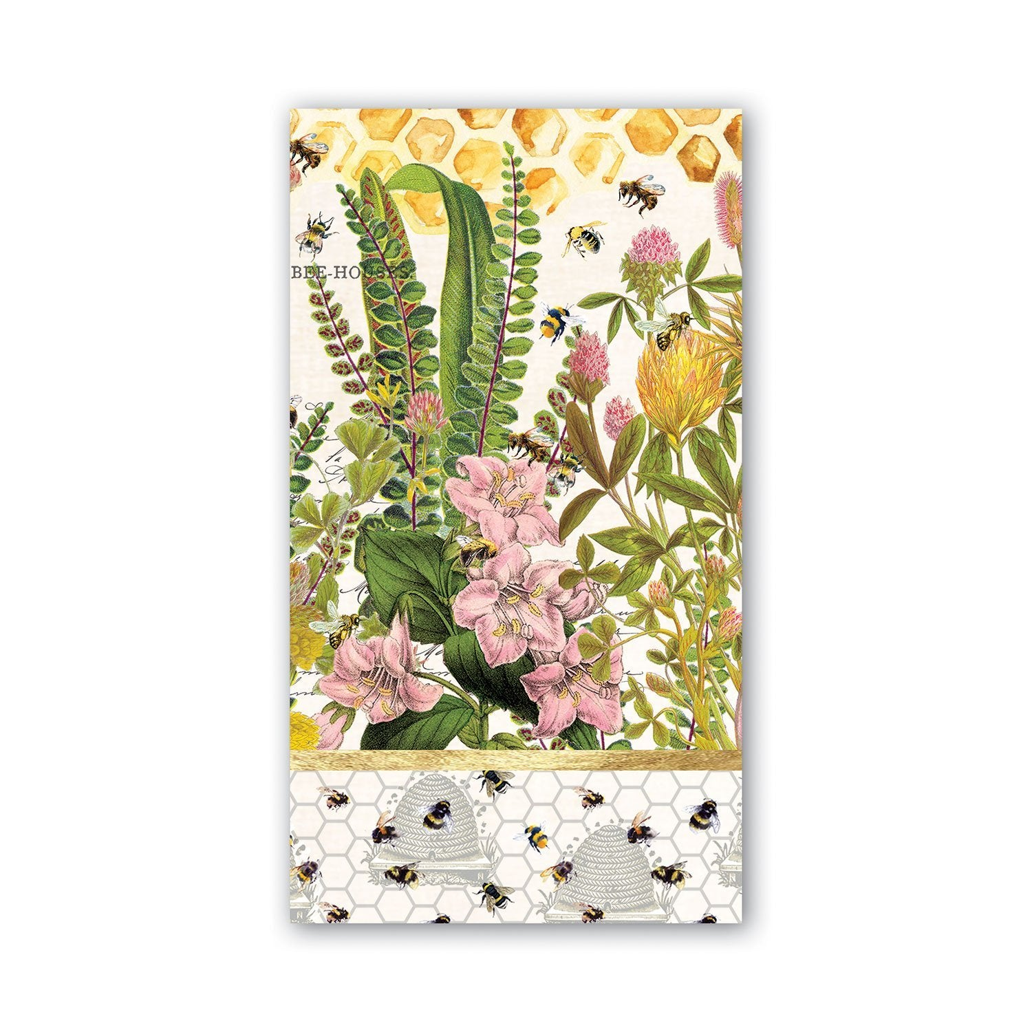 Honey Bees and Clover Napkins