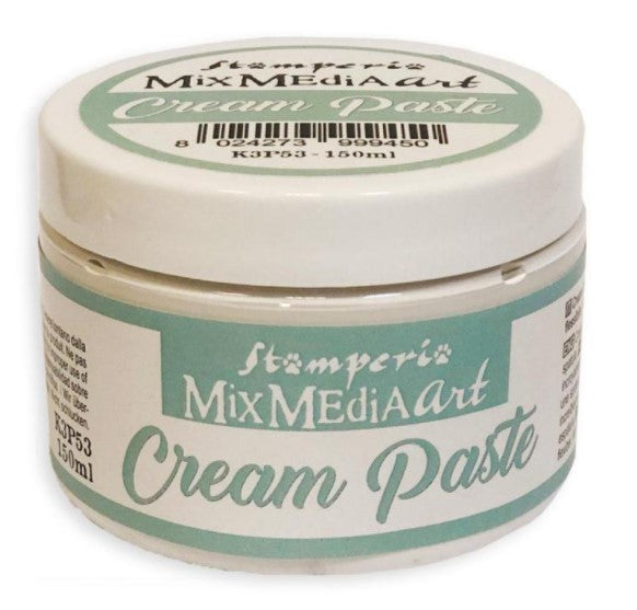 Stamperia Cream Paste- 150ml
