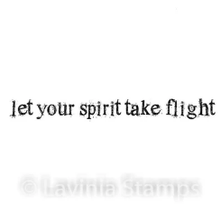 lavinia stamps let your spirit take flight
