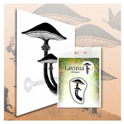 lavinia stamps mini forest mushrooms
