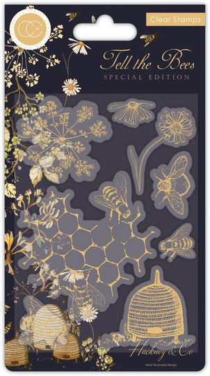 Craft Consortium Tell the Bees - Special Edition - Stamp Set
