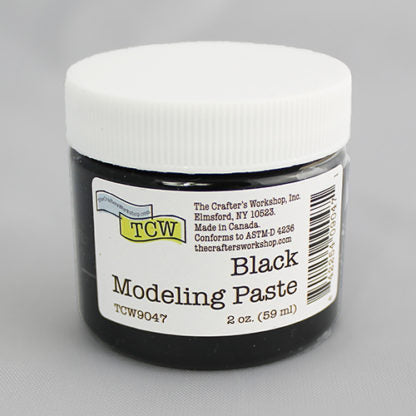TCW Black Modeling Paste 2oz