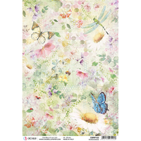 ciao bella rice paper for decoupage microcosmos