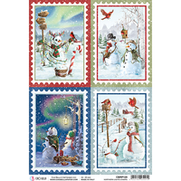 ciao bella rice papers northern lights stamps
