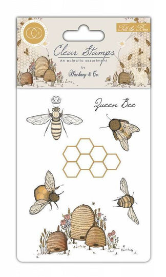 Craft Consortium Acrylic Stamp Set Tell the Bees