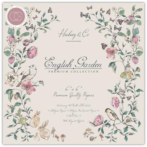 Craft Consortium English Garden 6x6 Premium Paper Pad