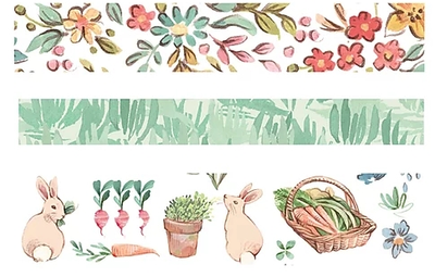 Craft Consortium Farm Meadow Washi Tape