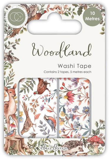 Craft Consortium Woodland Washi Tape