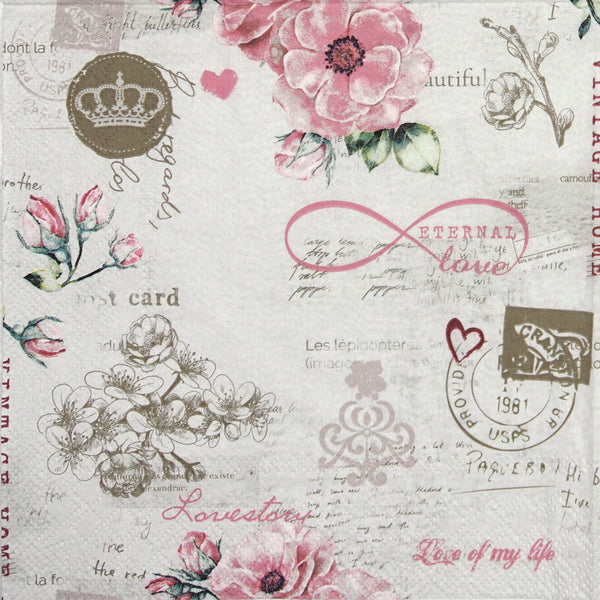 Eternal Love - Ninnys Napkins