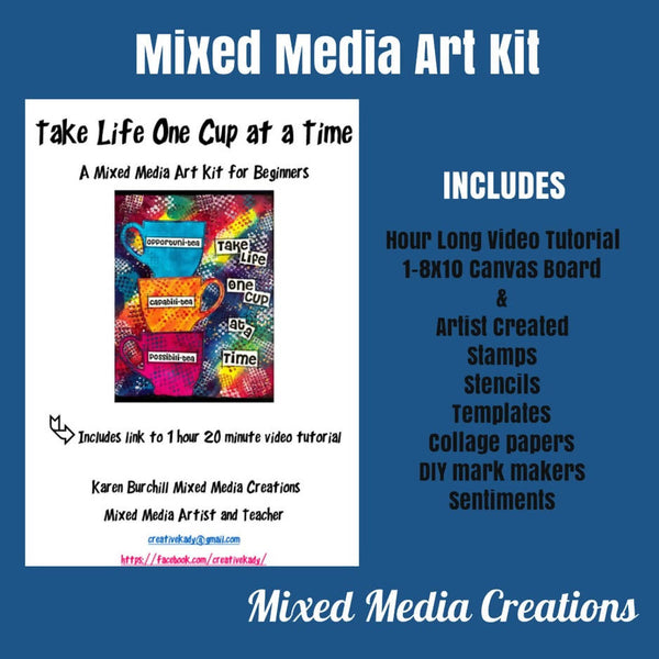 One Cup At a Time Art Kit
