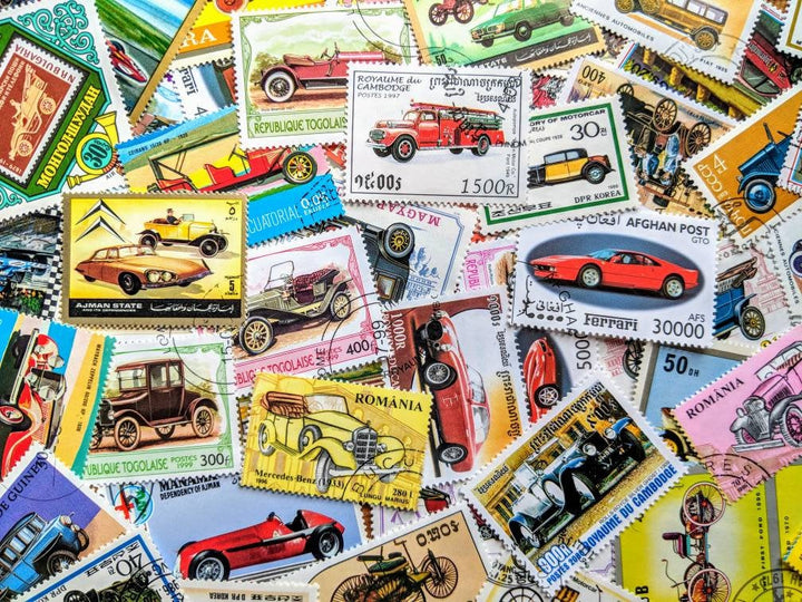 Vintage Vehicles & Automobiles - Ninnys Napkins