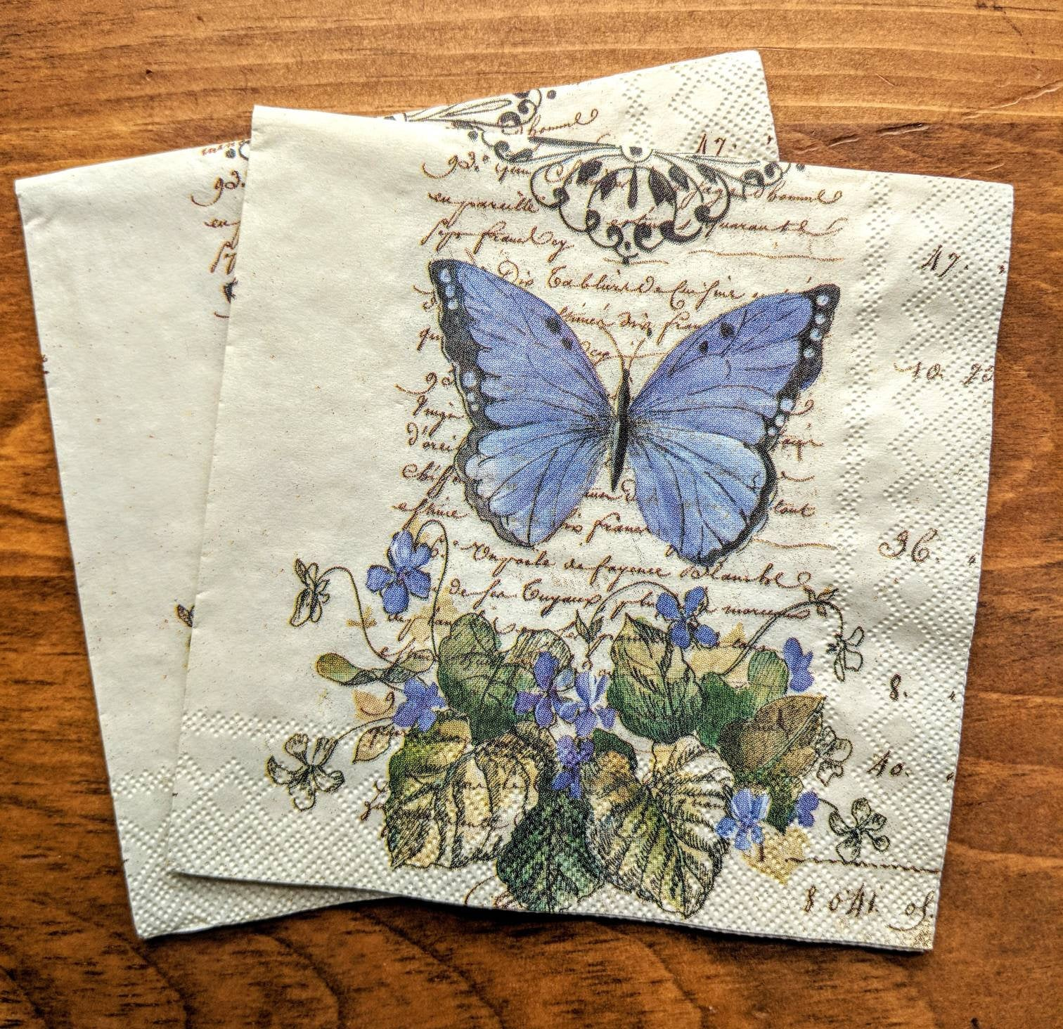 Moments of Romance - Decoupage Napkins