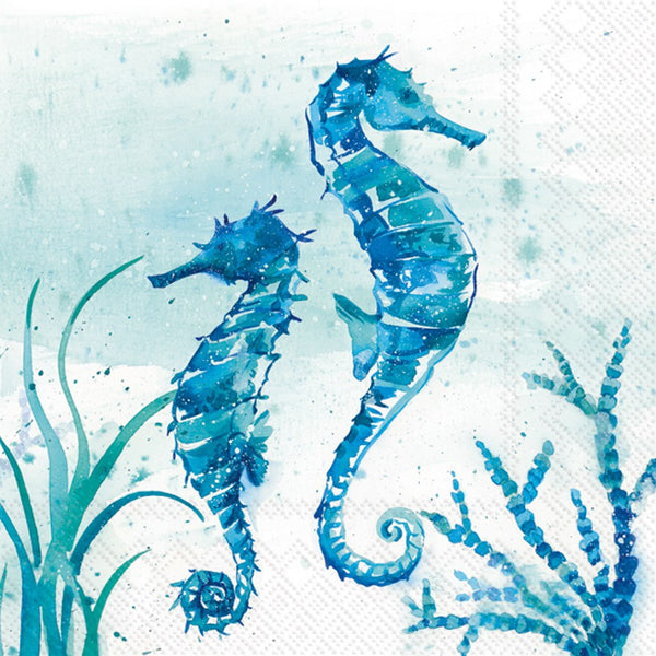 Napkins for Decoupage Aquaworld Sea Horse