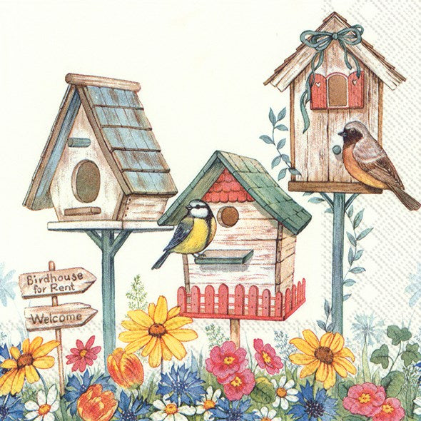 ninnys napkins for decoupage birdhouse for rent