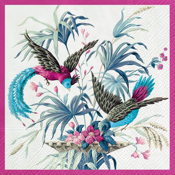 napkins for decoupage birds of eden