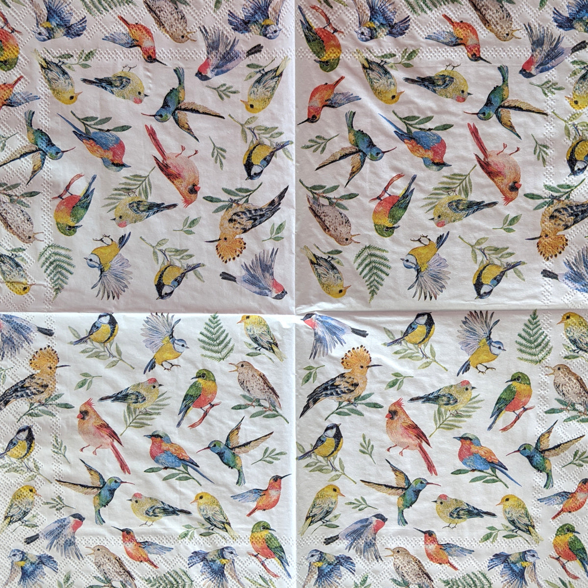 Bird Votes Decoupage Napkins