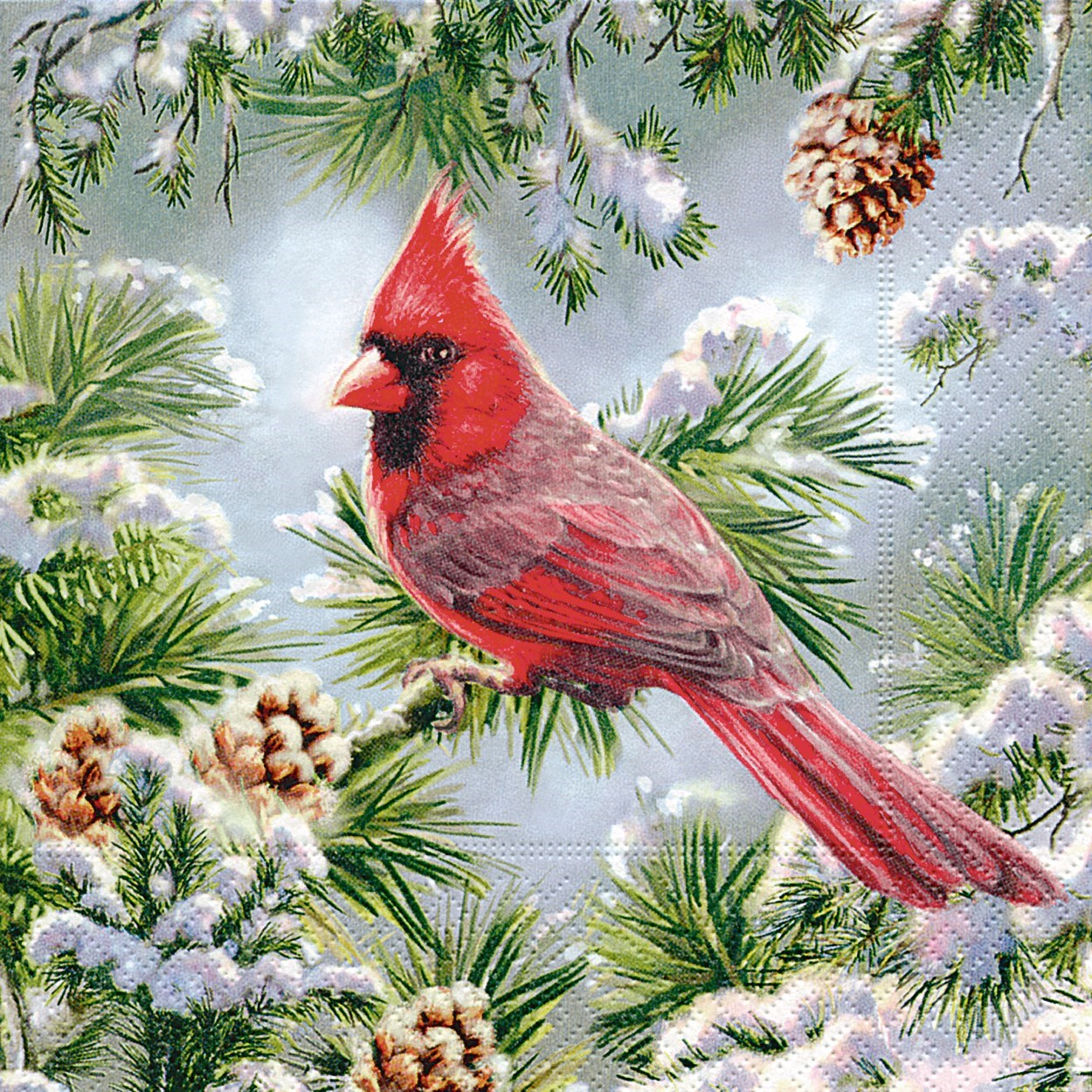 Red Cardinals Napkins