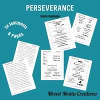 Perseverance Sentiment Pack