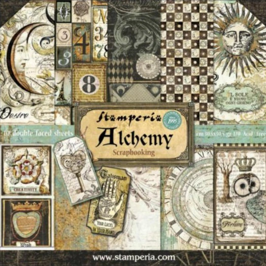 Stamperia Alchemy 12