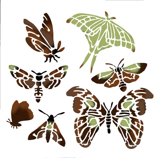 TCW The Crafters Workshop Graceful Moths 6