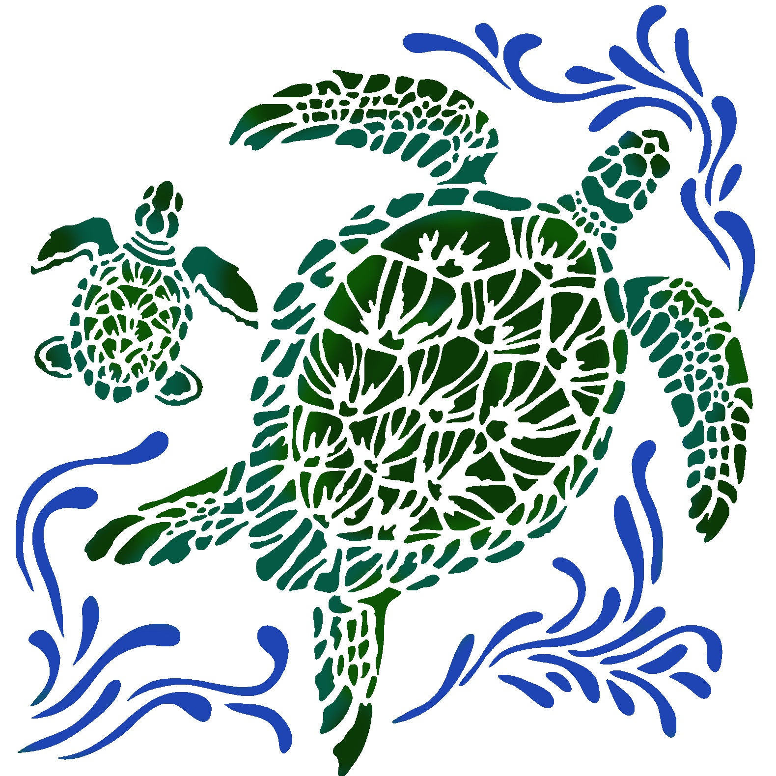 TCW The Crafters Workshop Sea Turtles 6