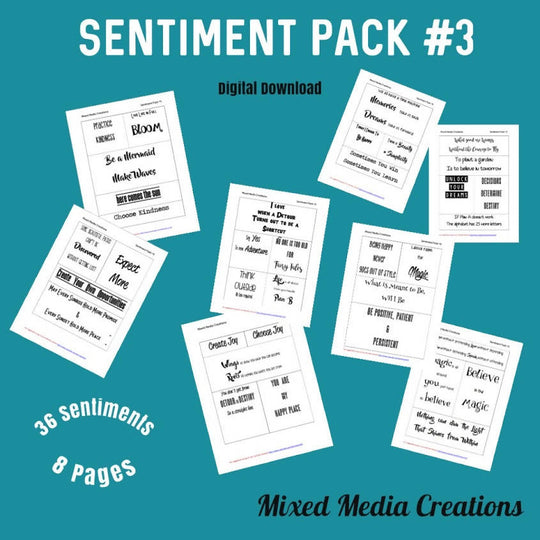 Sentiment Pack #3