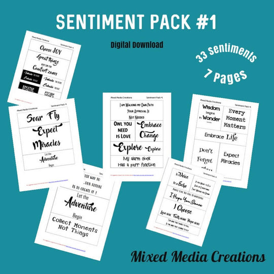 Sentiment Pack #1