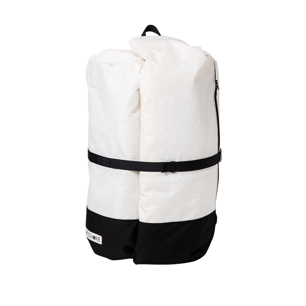 Classic White Travel Backpack - Large - ARTICHOKE BAGS